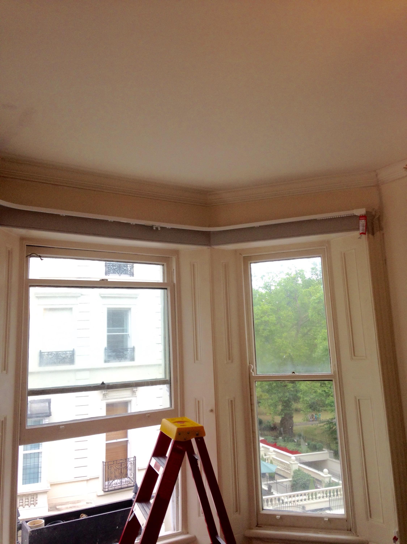 Portfolio Curtain Installation Service Track Fitting