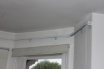 4 bend bay window Kirsch track fitted by FITT ERIND