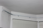 made to measure curtain rail coreded and fitted by FITT ERIND