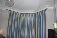 bespoke curtains in triple pinch pleat by FITT ERIND