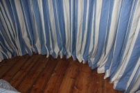 interlined heavy curtains in french pleat FITT ERIND
