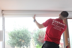 Curtain fitters west london