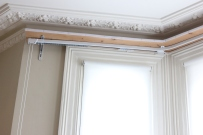 bay window curtain rails FITT ERIND