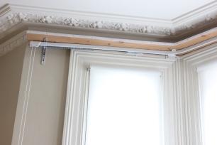 bay window curtain rails FITT ERIND