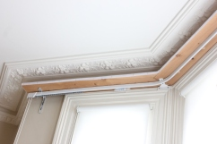 double duty curtain track by FITT ERIND