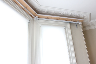 heavy duty curtain rail in south west london