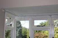 broken cords curtain rail