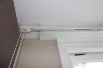 heavy duty curtain rail