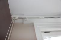 heavy duty curtain rail