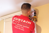 Curtain track fitters South west london