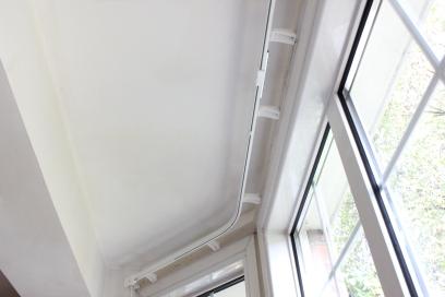two bend bay window curtain tracks ealing